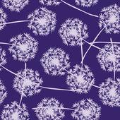 Dandelion seamless pattern — Stock Vector