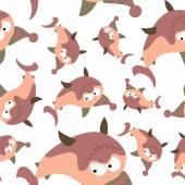 Sharks seamless pattern. — Stock Vector