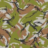 Camouflage seamless pattern. Woodland style — Stockvector