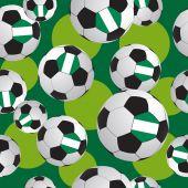 Texture soccer ball. Sports pattern. — Stock Vector