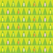 Ice cream seamless pattern — Stock Vector