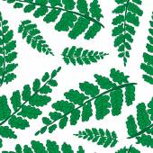 Palm leaves background. — Stock Vector
