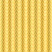 Woolen yarn, knitted plait. — Stock Vector