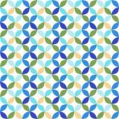 Seamless  geometric circle pattern. — Stockvektor
