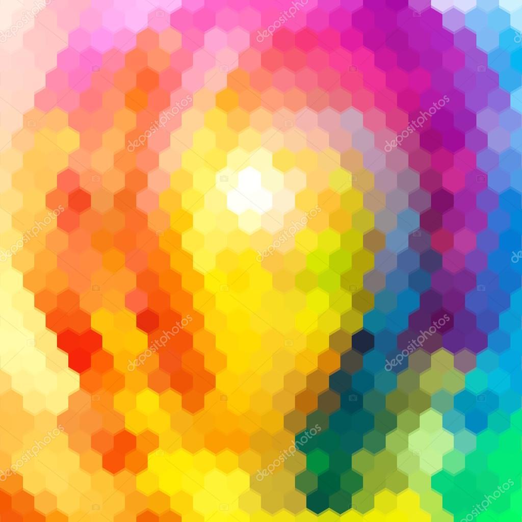 抽象的背景颜色鲜艳的夏季无缝