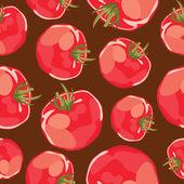 Rajčata pozadí. — Stock vektor