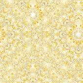 Wallpaper. A seamless vector background. Gold texture. — Stock Vector