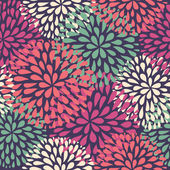 Vector seamless pattern. Modern floral texture. Stylish abstract background. — Stockvektor