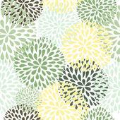 矢量无缝模式。现代花卉的纹理。时尚的抽象背景. — 图库矢量图片