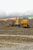 Escavadeira no trabalho — Foto Stock