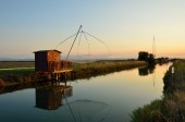 Fishing houses — Stock Photo