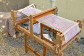 Antigua máquina de tejer — Foto de Stock