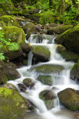 Water and rocks — Stock Photo