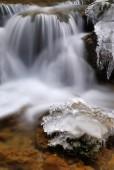 Water en ijs — Stockfoto