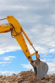 Pá escavadeira — Foto Stock