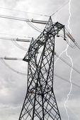 Torre de alta tensión — Foto de Stock