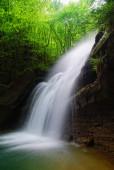 Tropical cascade in spring — Stock Photo