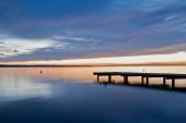 Peacefull waters of the lake — Foto Stock