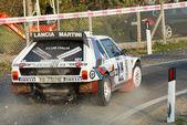 Lancia delta s4 turning right — Stock Photo