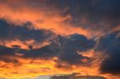 Gökyüzü günbatımı — Stok fotoğraf