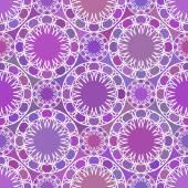 Abstract mosaic spirograph pattern — Wektor stockowy