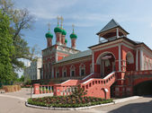 Rossiya.V Vysokopetrovsky Monastery in Moscow. — Foto de Stock
