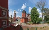 Rossiya.V Vysokopetrovsky Monastery in Moscow. — Stockfoto