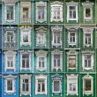 Постер, плакат: Collage of windows with architraves Rostov the Great