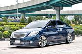Blue ECO Car Sedan in VIP Style — Stock fotografie