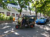 Tricycle in Bangkok Thailand — Stock Photo