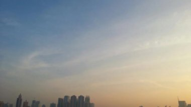 Sunshine in Bangkok city — Stock Video