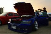 VIP автомобилей в Таиланде Показать встречи — Стоковое фото