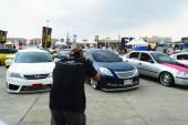VIP Car Thailand car show meeting — 图库照片