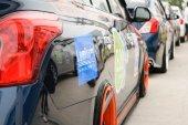 La carovana Nissan Eco 4 2015 — Foto Stock