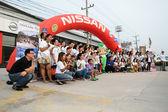 The 4th Nissan Eco caravan 2015 — 图库照片