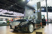 Mercedes-benz in the 36th Bangkok International Motor Show 2015 — Stock Photo