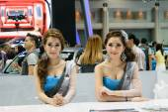 Salón del automóvil internacional de 36 Bangkok 2015 — Foto de Stock