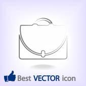 Icône porte-documents — Vecteur