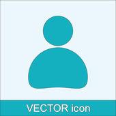 Obchodní muž ikona — Stock vektor
