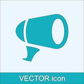 Megaphone icon — Stock Vector