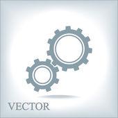 Ikonu ozubeného kola — Stock vektor