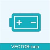 Battery icon — Stock Vector