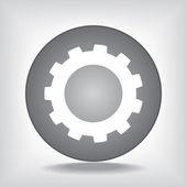 Kugghjulet — Stockvektor