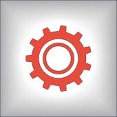 символ механизма — Cтоковый вектор