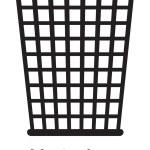 Постер, плакат: Trash bin icon