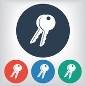 Key icon — Stock Vector