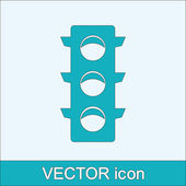 Traffic lights icon — Stock Vector
