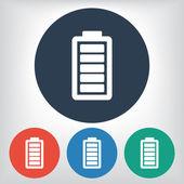 Battery load icon — Vecteur