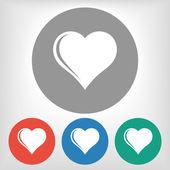 心的图标 — 图库矢量图片