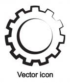 Ikona gear — Stock vektor